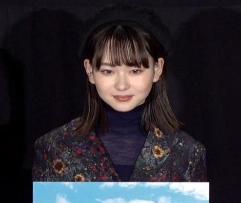 映画『ジオラマボーイ・パノラマガール』公開記念舞台あいさつに出席した山田杏奈 (C)ORICON NewS inc.
