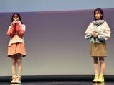 『SHIBUYA SCRAMBLE FESTIVAL 2020 Produced by anan』に登場した(左から)齋藤飛鳥、山下美月 (C)ORICON NewS inc.
