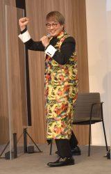 変身ポーズを再現する酒井一圭=東京国際映画祭『酒井一圭presentsスーパー戦隊サプライズフェスティバル』