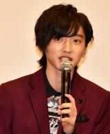 『461個のおべんとう』の公開記念舞台あいさつに出席した道枝駿佑 (C)ORICON NewS inc.