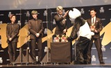 (左から)田中樹、ジェシー、ラウール、岩本照=『anan AWARD』表彰式 (C)ORICON NewS inc.