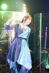 水樹奈々初のオンラインライブ『NANA ACOUSTIC ONLINE』より Photo by MASA