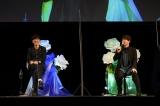 TVアニメ『宝石商リチャード氏の謎鑑定』スペシャルイベントに登場した(左から)櫻井孝宏、内田雄馬