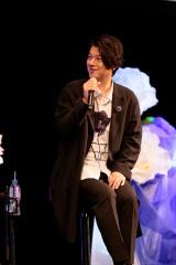 TVアニメ『宝石商リチャード氏の謎鑑定』スペシャルイベントに登場した松風雅也