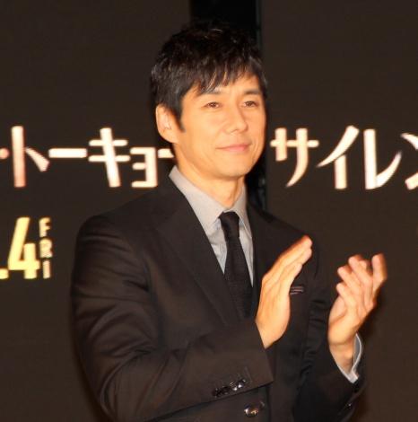 映画『サイレント・トーキョー』の点灯式イベントに登場した西島秀俊 (C)ORICON NewS inc.