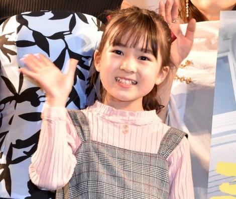 映画『ミセス・ノイズィ』完成披露舞台あいさつに出席した新津ちせ (C)ORICON NewS inc.
