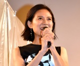 映画『ミセス・ノイズィ』完成披露舞台あいさつに出席した篠原ゆき子 (C)ORICON NewS inc.