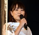 映画『ミセス・ノイズィ』完成披露舞台あいさつに出席した天野千尋監督 (C)ORICON NewS inc.