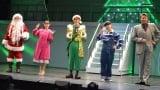 ファンタジッククリスマスミュージカル『ELF The Musical』開幕直前取材に登壇した(左から)コング桑田、柏木ひなた、岩崎大昇、織山尚大、別所哲也 (C)ORICON NewS inc.