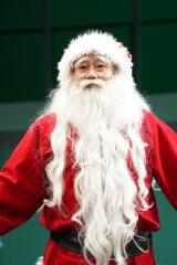 ファンタジッククリスマスミュージカル『ELF The Musical』開幕直前取材に登壇したコング桑田 撮影=岩田えり