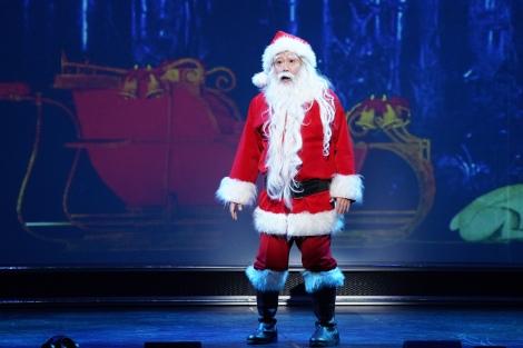 ファンタジッククリスマスミュージカル『ELF The Musical』公開ゲネプロに参加したコング桑田 撮影=岩田えり