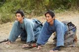 渋沢栄一(吉沢亮)と渋沢喜作(高良健吾)は仕官の意志や自身が抱えている思いを慶喜に伝える(C)NHK