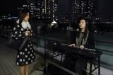 木曜ドラマ『七人の秘書』第5話(11月19日放送)主題歌アーティストのmilet(ミレイ)がストリートミュージシャン役で出演。大島優子と共演 (C)テレビ朝日