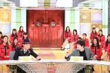 13日放送の『中居正広の金曜日のスマイルたちへ』に出演する(左から)中居正広、神木隆之介(C)TBS
