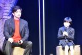 映画『妖怪大戦争 ガーディアンズ』始動記者会見に出席した(左から)大沢たかお、寺田心 (C)ORICON NewS inc.