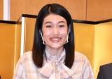 コミュニケーション・ロボットATOM「石巻市SDGs広報大使」任命式に出席した横澤夏子 (C)ORICON NewS inc.