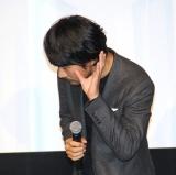 映画『ホテルローヤル』初日舞台あいさつに登場した松山ケンイチ (C)ORICON NewS inc.