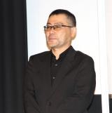 映画『ホテルローヤル』初日舞台あいさつに登場した武正晴監督 (C)ORICON NewS inc.