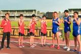 『炎の体育会TVSP』(後7:00)で上田ジャニーズ陸上部と東海オンエアがマスクドランナーと三つ巴対決 (C)TBS