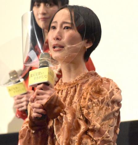 映画『魔女見習いをさがして』公開記念舞台あいさつに登壇した松井玲奈 (C)ORICON NewS inc.