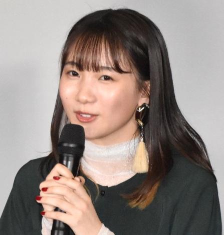 映画『たぶん』公開記念舞台あいさつに出席したYOASOBIのikura (C)ORICON NewS inc.