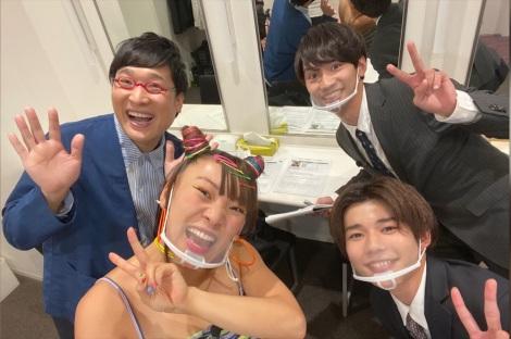11月14日放送、『なにわ男子と一流姉さん』流行語大賞候補・フワちゃん登場 (C)テレビ朝日