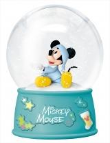 スノードーム(ミッキーマウス)『DISNEY クリスマスオーナメントくじ2020』(C) Disney (C) Disney. Based on the