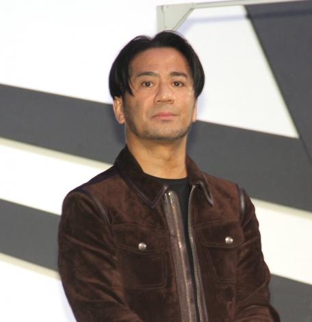 プロダンスリーグ『D.LEAGUE』のプレスカンファレンスに出席したEXILE HIRO (C)ORICON NewS inc.