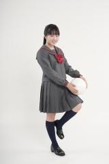 高校サッカー16代目応援マネージャーを務める本田望結(C)日本テレビ