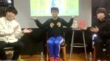 オンラインで行われた『BKBショートショート小説集 電話をしてるふり』トークイベントに参加した(左から)屋敷裕政、バイク川崎バイク、尾崎世界観