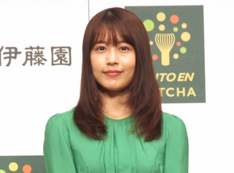 『伊藤園「新商品・プロジェクト記者発表会」』に出席した有村架純 (C)ORICON NewS inc.