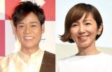 (左から)名倉潤、渡辺満里奈 (C)ORICON NewS inc.