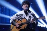 、尾崎豊の名曲「I LOVE YOU」のカバーも披露する (C)NHK