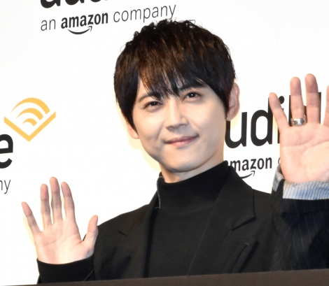 『Amazon Audible』のプレス向け戦略発表会に参加した梶裕貴 (C)ORICON NewS inc.