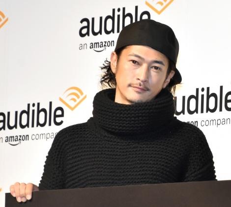 『Amazon Audible』のプレス向け戦略発表会に参加した窪塚洋介 (C)ORICON NewS inc.