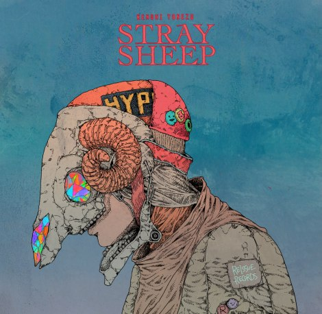 米津玄師自らイラストを描き下ろしたニューアルバム『STRAY SHEEP』ジャケット