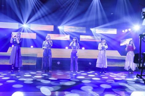 『MTV VMAJ 2020 -THE LIVE-』に出演したLittle Glee Monster(C)岸田哲平