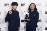 『MTV VMAJ 2020 -THE LIVE-』に出演したCreepy Nuts(C)田中聖太郎