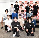 『第33回ジュノン・スーパーボーイ・コンテストBEST35』お披露目イベントの模様 (C)ORICON NewS inc.