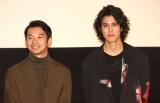 映画『泣く子はいねぇが』の特別上映会に出席した(左から)仲野太賀、寛一郎 (C)ORICON NewS inc.