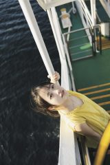 STU48・石田千穂ソロ写真集『檸檬の季節』裏表紙 撮影/ YOROKOBI