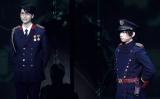 『舞台 PSYCHO-PASS サイコパス Virtue and Vice 2』公開ゲネプロに出席した(左から)多和田任益 、荒牧慶彦 (C)ORICON NewS inc.