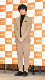 新作小説『オルタネート』刊行記念トークイベントに出席した加藤シゲアキ (C)ORICON NewS inc.