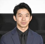 映画『泣く子はいねぇが』公開記念舞台あいさつに登壇した仲野太賀 (C)ORICON NewS inc.