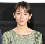 映画『泣く子はいねぇが』公開記念舞台あいさつに登壇した吉岡里帆(C)ORICON NewS inc.