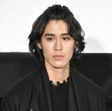映画『泣く子はいねぇが』公開記念舞台あいさつに登壇した寛一郎 (C)ORICON NewS inc.