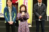 『関西演劇祭2020〜お前ら、芝居たろか!』の開幕セレモニーに出席した羽野晶紀
