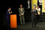 『関西演劇祭2020〜お前ら、芝居たろか!』の開幕セレモニーに出席した櫻井賢氏