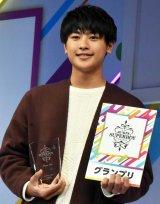 『第33回ジュノン・スーパーボーイ・コンテスト』でグランプリに選ばれた北海道出身の中学3年・前川佑さん (C)ORICON NewS inc.