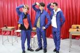23日放送『なにわからAぇ! 風吹かせます!』に出演するAぇ! groupの末澤誠也、正門良規、草間リチャード敬太 (C)カンテレ